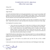 Dan Short resignation letter