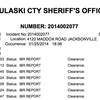 Pulaski County sheriff's office report • Jan. 25, 2014
