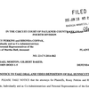 Faulkner County Circuit Court filing