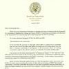 PARCC letter to Education Commissioner