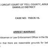 Michael Spears arrest affidavit