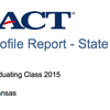 Arkansas 2015 ACT report