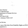 Response to Disability Rights letter