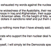Cotton prepared speech on Iran deal supporters