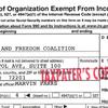 Arkansas Faith & Freedom Coalition 2013 Tax Report