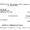 Conway's notice of appeal