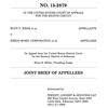 Rudy Webb, et al v. Exxon Mobil Corporation briefing