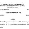 Order denying Maggio's motion