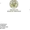 Letter from Sen. Dismang to Gov. Hutchinson
