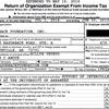 IRS990 Razorback Foundation form