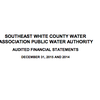 Southeast White County Water Association audited financial statements
