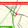 Cantrell Road closure