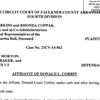 Donald Corbin affidavit