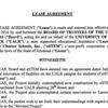 Lease agreement, memorandum for UALR, eSTEM