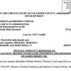 Michael Morton response to plaintiffs' motion