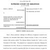 Arkansas Supreme Court decision disqualifying Arkansas Medical Cannabis Act from ballot