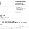 U.S. attorney letter in Maggio case