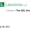 2011 GEL Laboratories data report