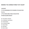 Little Rock Area Public Education Stakeholders Group report
