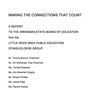 Little Rock Area Public Education Stakeholders Group report