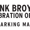 Frank Broyles' tribute parking map
