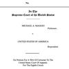 Maggio's petition to U.S. Supreme Court