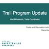 Fayetteville Parks Plan 2018