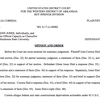 Judge's opinion in Henderson State case