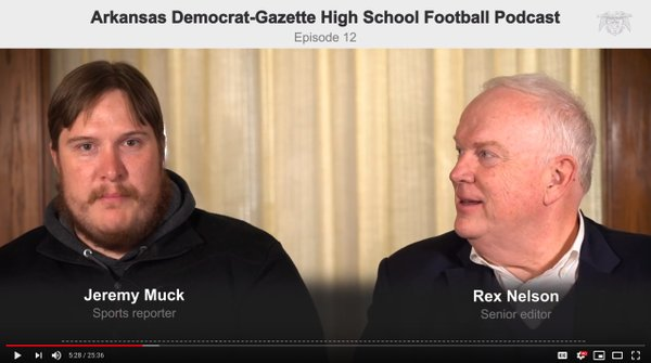 HIGH SCHOOL FOOTBALL PODCAST: Rex Nelson and Jeremy Muck preview second week of playoffs