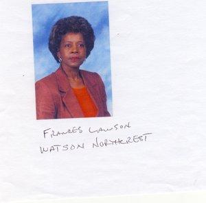 Obituary for Frances J  Lawson, Little Rock, AR