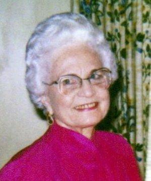 Photo of Edna Frances Baggett