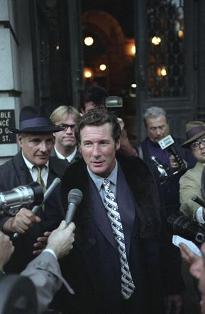 This is not Clifford Irving; it's Richard Gere, who portrays the famous forger in The Hoax.