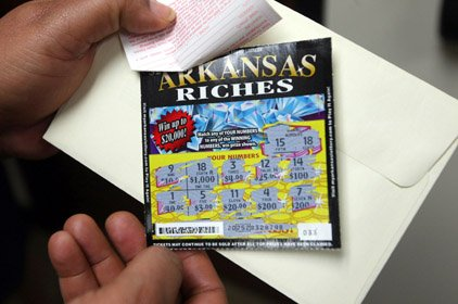 Arkansas launches scatch-off lottery ticket sales