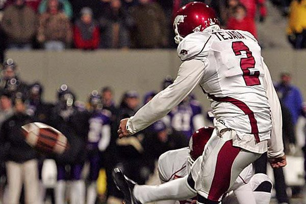 arkansas-kicker-alex-tejada-kicks-the-game-winning-fieldgoal-in-over-time-to-beat-east-carolina-20-17-in-the-liberty-bowl