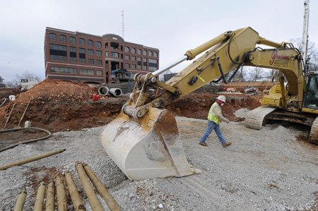 Problems plague parking deck project nwadg for Deck builders fayetteville ar
