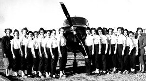The Wing Scouts, early spring of 1950, included from left: Louise Jefferson, Norma McKinney, Wendolyn Bronson, Sue Woodruff, Sylvia Butts, Mary Ellen Parker, Jaclyn Puckett, Sherryden Greene, Carol Decker, Dorothy Hamilton (Lynch), Sandra Craig, Nelda Sly, Clarice Strode, Margaret VanMeter, Doris Kelly, Judy Tuel, Katherine Pourron and Dorris Larimore.