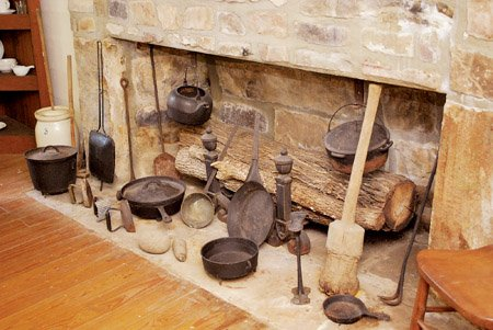 In Pioneer Days Cast Iron Skillets And Dutch Ovens Were