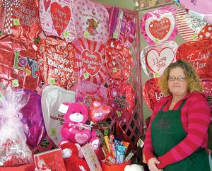 Debbie Speer likes making people happy with her floral creations.