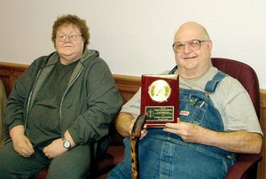 Shirley and Roger Harris were honored at last week's Pea Ridge City Council meeting for their decades of service to the city. The couple retired from the Pea Ridge Volunteer Ambulance Service which recently merged with the Fire Department.