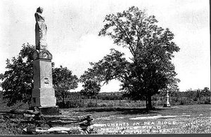 Monuments on Pea Ridge Battlefield. This weekend marks the 148th anniversary of the March 7-8, 1862, Civil War.