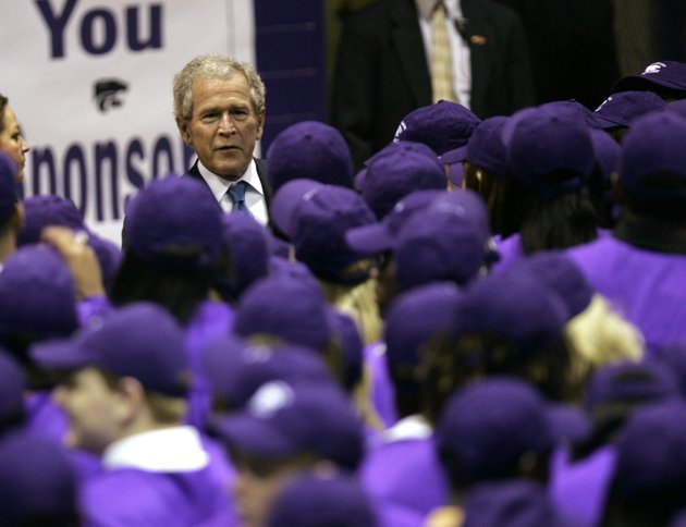 former-president-george-w-bush-speaks-with-some-of-about-500-graduating-seniors-at-el-dorado-high-school-on-thursday-april-22-2010