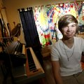 14-year-old blues musician Nathan Aronowitz tells us why his home studio is the coolest room in his ...