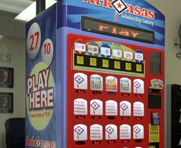 Arkansas panel hears complaints on lotto machines