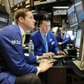 Traders work on the floor of the New York Stock Exchange Thursday in New York. It was a painful flas...