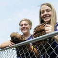 Springdale Har-Ber seniors Molly Bowman, right, and Alyssa Deshong are two of the Lady Wildcats' lea...