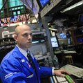Bank of America specialist Mark Fitzgerald works at the New York Stock Exchange on Friday in New Yor...