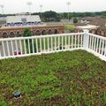UCA officials unveiled a new 2,000-square-foot garden on the roof of Laney Hall on Thursday that the...