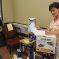 Rhonda Woodruff, auction chairwoman for the May 22 Spring Fling fundraiser for the Adult Development...