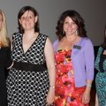 Junior League board members Amanda Armour, Jennifer Rokeby-Mayeux, Mitzi Traxson and Lindsay McGarit...
