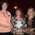 Junior League Star Award winners for 2009-10 are Sarah Lowrence, from left, Diane Murphy and Gracie ...